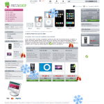 prestashop modules Christmas, new year flakes