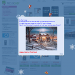 christmas welcome prestashop module
