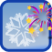 Christmas flakes + New Year module logo