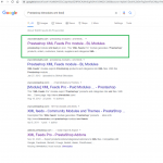 Prestashop Google Indexing API